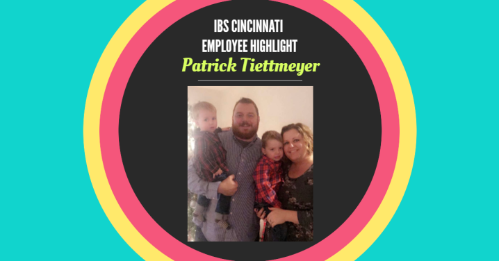 IBS Employee Highlight: Patrick Tiettmeyer